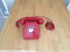 Vintage Red GPO 706L Telephone