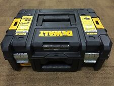 DeWalt 1-70-703 TSTAK II Toolbox Empty Power Tool Carry Case Flat Top