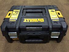 DeWalt 1-70-703 TSTAK II Toolbox Empty Power Tool Carry Case Flat Top