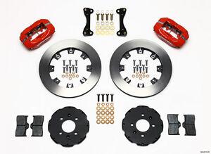 Wilwood Dynalite Front Big Brake Kit,fits Honda Civic,CRX,Del Sol,Fit,140-6163