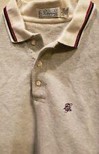 Vintage Pickering by Kimberton Company Long Sleeve Polo Shirt Large Gray
