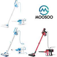 MOOSOO 2020 Vacuum Cleaner Corded 17KPa Suction Stick Vacuum 2 in 1 Vacuum D600