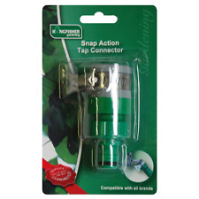 Garden Kitchen Tap Hose Fitting Connector Snap Action Rubber Mixer MuIti UK PRO
