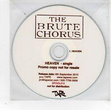 (FV897) The Brute Chorus, Heaven - 2010 DJ CD