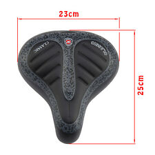 WIDE BIG BUM BIKE BICYCLE GEL CRUISER COMFORT SPORTY SOFT PAD SADDLE SEAT