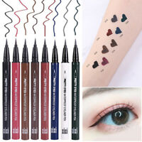 8Colors Eye Liner Liquid Waterproof Makeup Eyeliner Pen Pencil Beauty Cosmetics~