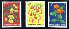 NIGER 1964 African flowers set SG159/167 unmounted mint
