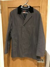 Merc Grey Moleskin Mod Coat Beatles 60's London - Medium