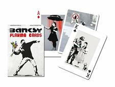 GIBSONS BANKSY PLAYING CARDS GAME BY PIATNIK  - NEW SEALED DECK OF CARDS