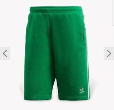 Mens XS Adidas 3,Stripe Green Vert Shorts
