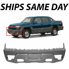 NEW Front Bumper Fascia Gray Textured for 2002 Chevy Avalanche With Cladding 02