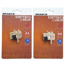 BRAKCO Sintered Disc Brake Pads AVID Juicy BB7, Juicy Ultimate, Promax DSK-950