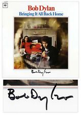 Bob Dylan Signed Vinyl Record Bringing It All Back Home