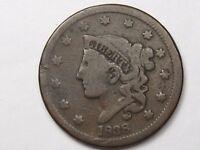 1838 US Coronet Head Large Cent.  #16