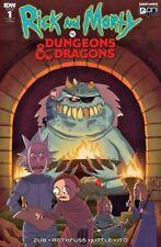 ONI PRESS Comic RICK & MORTY vs DUNGEONS & DRAGONS #1 NM Variant MESEEKS PICKLE
