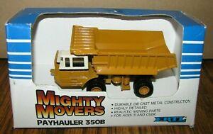 IH International Pay Hauler 350B Dump Truck 1/64 Mighty Movers Ertl Toy #1852