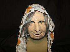 Nana Super Soft Old Lady Latex Female Mask Zagone Studios.UK Stock,Video Clip.