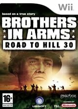 Wii Brothers in Arms - Road To Hill 30 - Excellent Condition