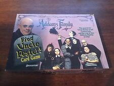The Addams Family - Find Uncle Fester Card Game - 1991 - Goth - Creepy - Kooky