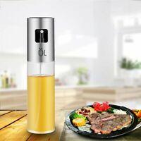 Olio Spruzzatore,Nebulizzatore Olio/Aceto 100ml Cucina Dell'acciaio Inossidabile