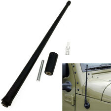 Universal 13.4'' AM FM Radio Antenna Reflex Fit For Jeep Wrangler JK JL 2007-18