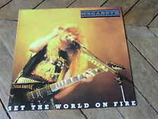 MEGADETH Set the world on fire LP Live in Toronto 88