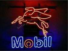 "New Mobil Gasoline Car Auto Store Bar Party Light Lamp Decor Neon Sign 17""x14"""