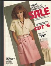 Sears Spectacular Summer Catalog Sale 1985 Apparel Home Fashions Electronics