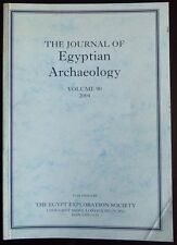 The Journal of Egyptian Archaeology Volume 90 2004 + Review Supplement Volume