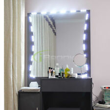 5FT Dressing Mirror Lighted Cosmetic Makeup Vanity LEDlight white with power UL