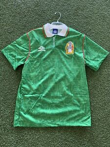 UMBRO MEXICO HOME JERSEY 1994 SIZE: M