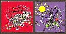 FRANCE 2010 Autoadhésifs n° 386 et 387 COEURS de LANVIN Neufs** LUXE MNH