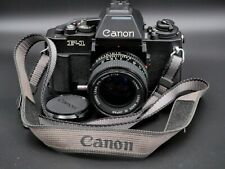 Canon New F-1 F1N Body, with AE Finder and 50mm f/1.4 FD Lens: Clean, Near Mint