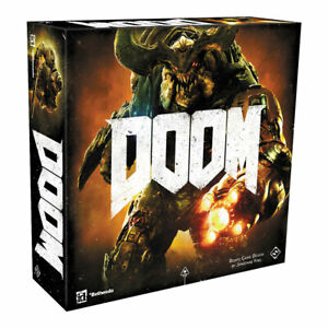 Doom Board Game SEALED UNOPENED FREE SHIPPING