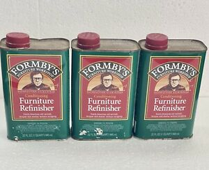 THREE 32oz Form-by's Furniture Conditioning Wood Furniture Refinisher *READ*