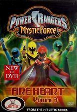 Power Rangers Mystic Force Fire Heart Volume 3 DVD 2006 NEW