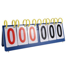 6 Digit Flip Scoreboard Score Flipper Volleyball Basketball Table Tennis