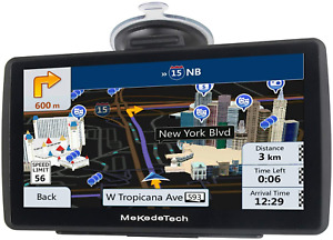Truck GPS Navigation Driver Big Rig Accessories 2020 Map 8G Trucker System 7 In