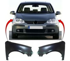 Vw Golf Mk5 2004-2008 Front Wing Primed Pair Left & Right High Quality New
