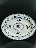 ROYAL DOULTON YORKTOWN (RIBBED) TC1013 OVAL SERVING PLATTER / MEAT PLATE 41CM