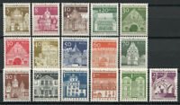 Berlin 1966 Mi. 270-285 MNH 100% Structures.