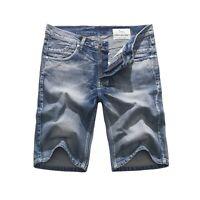 FOX JEANS Men's Dean Blue Denim Shorts SIZE 32-44