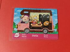 Animal Crossing New Leaf Welcome Amiibo Card ACNL # 07 Stella - UK PAL version