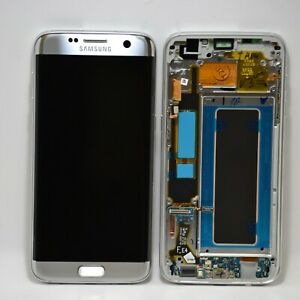 Genuine Samsung Galaxy S7 Edge, G935 F, FD, DUOS SILVER LCD Assembly GH97-18533B