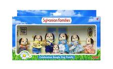 Sylvanian Families Calico Critters Beagle Dog Celebration Family