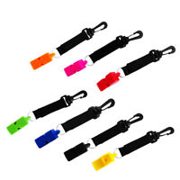 Emergency Kayak Scuba Dive Safety Whistle Survival Rescue Signaling Device