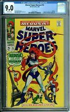 MARVEL SUPER-HEROES 15 CGC 9.0 MEDUSA INHUMANS FRIGHTFUL FOUR Marvel Silver Age