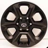 2014-2019 Toyota 4Runner SR5 Wheels OEM Powdercoated Satin Black 42611-35530