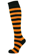 Mens Knee High Socks Striped