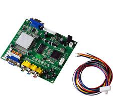 Juego Arcade mcbazel/CGA/EGA RGB a VGA Salida de vídeo de alta definición de juego Convertidor Board Para